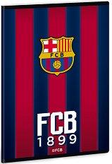 Ученическа тетрадка - ФК Барселона : Формат А5 с широки редове - 40 листа -