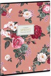 Ученическа тетрадка - Always Spring : Формат А4 с широки редове - 40 листа -