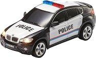 Полицейски автомобил - BMW X6 - Играчка с дистанционно управление и светлинни ефекти -