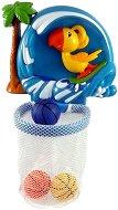 Кош с 3 топки - Папагалче - Детска играчка за баня -