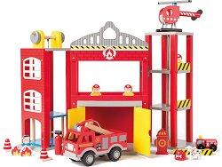 Пожарна станция - В комплект с аксесоари -