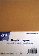 Крафт хартия - Комплект от 25 листа