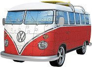 Ретро бус: Volkswagen T1 - 3D пъзел - пъзел