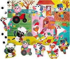 Животните от фермата - Пъзел от серията Ludattica - пъзел