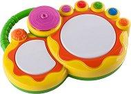 Барабанче - Играчка с музикален и светлинен ефект -