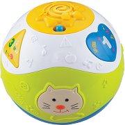 Образователна топка - Котенце - С музикални и светлинни ефекти - играчка