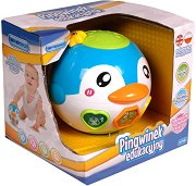 Топка - Пингвинче - Детска играчка с музикален ефект - играчка