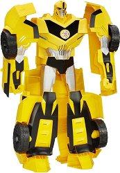 """Super Bumblebee - Екшън фигура със светлинен и звуков ефект от серията """"Трансформърс"""" -"""