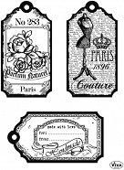 Силиконови печати - Тагове Париж - Размер 14 х 18 cm -