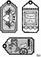 Силиконови печати - Тагове Любов - Размер 14 х 18 cm -
