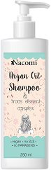 Nacomi Argan Oil Hair Shampoo - маска