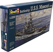 Военен кораб - U.S.S Missouri - макет