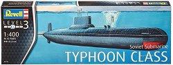 Съветска подводница - Typhoon - Сглобяем модел -