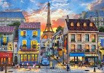 Парижки улици - пъзел