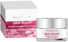 Rubelia Ideal Beauty Wrinkle Correction Control Cream - Крем за лице против бръчки - парфюм
