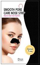 """Chamos Acaci Smooth Pore Care Nose Strip - Почистваща лепенка за нос против черни точки от серията """"Acaci"""" - гел"""