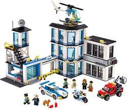 """Полицейски участък - Детски конструктор от серията """"LEGO City"""" - играчка"""