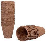 Кръгли саксии за разсад - Growing pots - Опаковка от 18 и 24 броя