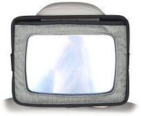 Огледало за задна седалка 2 в 1 - Аксесоар за автомобил с поставка за таблет -