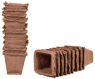Квадратни саксии за разсад - Growing pots - Опаковка от 14 или 20 броя
