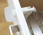 Магнитен предпазител за шкафове и чекмеджета - Комплект с магнитен ключ -