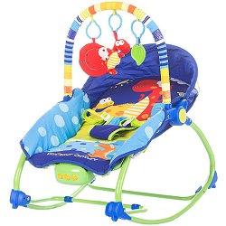 Бебешки шезлонг - Fiesta - С мелодии, светлини и вибрация - продукт