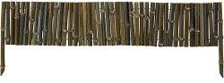 Ниска градинска ограда - Bamboo border - 1 модул с дължина 1 m