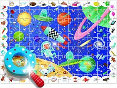 """Космос - Пъзел-игра от серията """"Ludattica"""" - пъзел"""