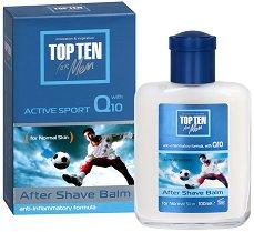 Top Ten Active Sport Q10 After Shave Balm - гел