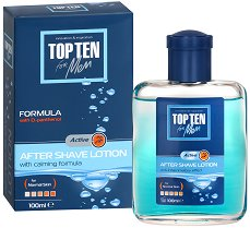 Top Ten Active After Shave Lotion - Лосион за след бръснене за нормална кожа -