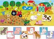 """Животните от фермата - 9 пъзела за най-малките от серията """"Ludattica"""" - пъзел"""