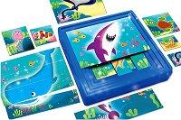 """Морските животни - 9 пъзела в кутия от серията """"Carotina Baby"""" - играчка"""