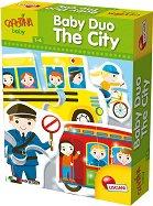"""Град - Образователен пъзел от серията """"Carotina Baby"""" - играчка"""