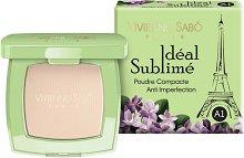 Vivienne Sabo Ideal Sublime Anti-Imperfection Compact Face Powder - Компактна антибактериална пудра за лице против несъвършенства - продукт