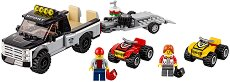 """Състезателен отбор с ATV - Детски конструктор от серията """"LEGO City"""" - играчка"""
