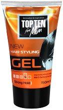 Top Ten Hair Styling Gel - Гел за коса със силна фиксация -