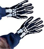 Детски ръкавици - Скелет - Парти аксесоар - творчески комплект
