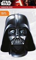 """Маска - Darth Vader - Парти аксесоар от серията """"Междузвездни войни"""" - творчески комплект"""
