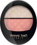 Vivienne Sabo Teinte Delicate Blush - Highlighter - Палитра с руж и хайлайтър за лице - балсам