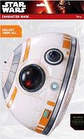 """Маска - BB-8 - Парти аксесоар от серията """"Междузвездни войни"""" - продукт"""