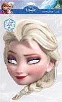 """Маска - Елза - Парти аксесоар от серията """"Замръзналото кралство"""" - творчески комплект"""