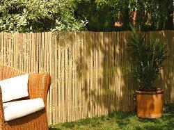 Градинска ограда от бамбук - Bamboocane