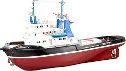 Кораб влекач - Atlantic - Сглобяем модел от дърво и пластмаса -