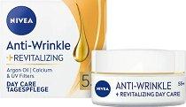 Nivea Anti-Wrinkle + Revitalizing Day Care 55+ - Регенериращ дневен крем за лице против бръчки - продукт