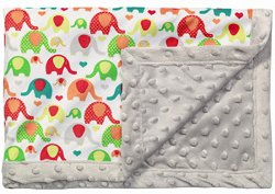 Детско микрофибърно одеяло с две лица - Размер 75 x 100 cm -
