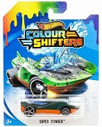 """Super Stinger - Количка за игра от серията """"Hot Wheels: Colour Shifters"""" - играчка"""