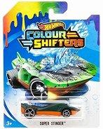 """Super Stinger - Количка за игра от серията """"Hot Wheels: Colour Shifters"""" - количка"""