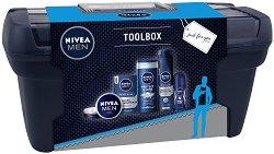 Подаръчен комплект за мъже - Nivea Men Toolbox - Козметика за лице и тяло -