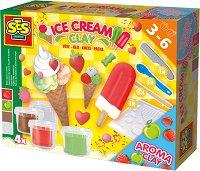 Направи сам с ароматен пластилин - Сладолед - Творчески комплект - играчка