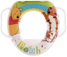 Детска седалка за тоалетна с дръжки - Мечо Пух - продукт